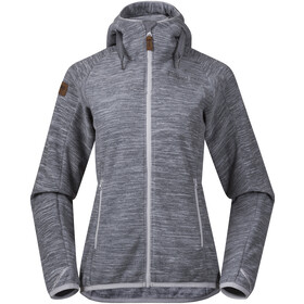 Bergans Hareid Fleece Jacket Dame aluminium melange